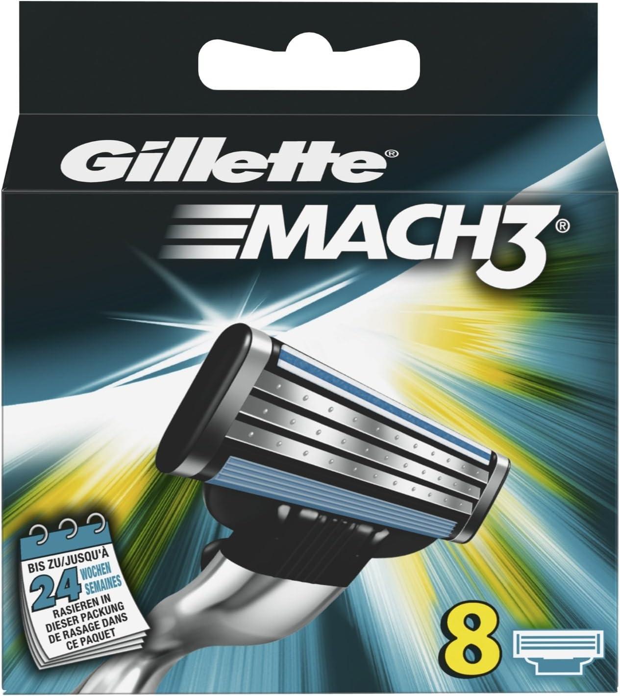 Gillette 7702018337651 - Accesorio para máquina de afeitar, 8 unidades