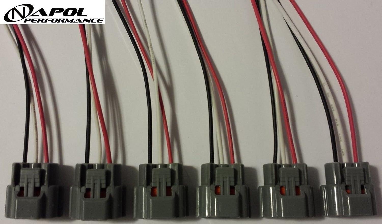 Nissan Skyline Ignition Coil Connector Plugs Harness Wiring Sr20 Rb26 Rb20 Rb25 Pack Rb26dett Rb25det Rb20det Sr20det Of 6