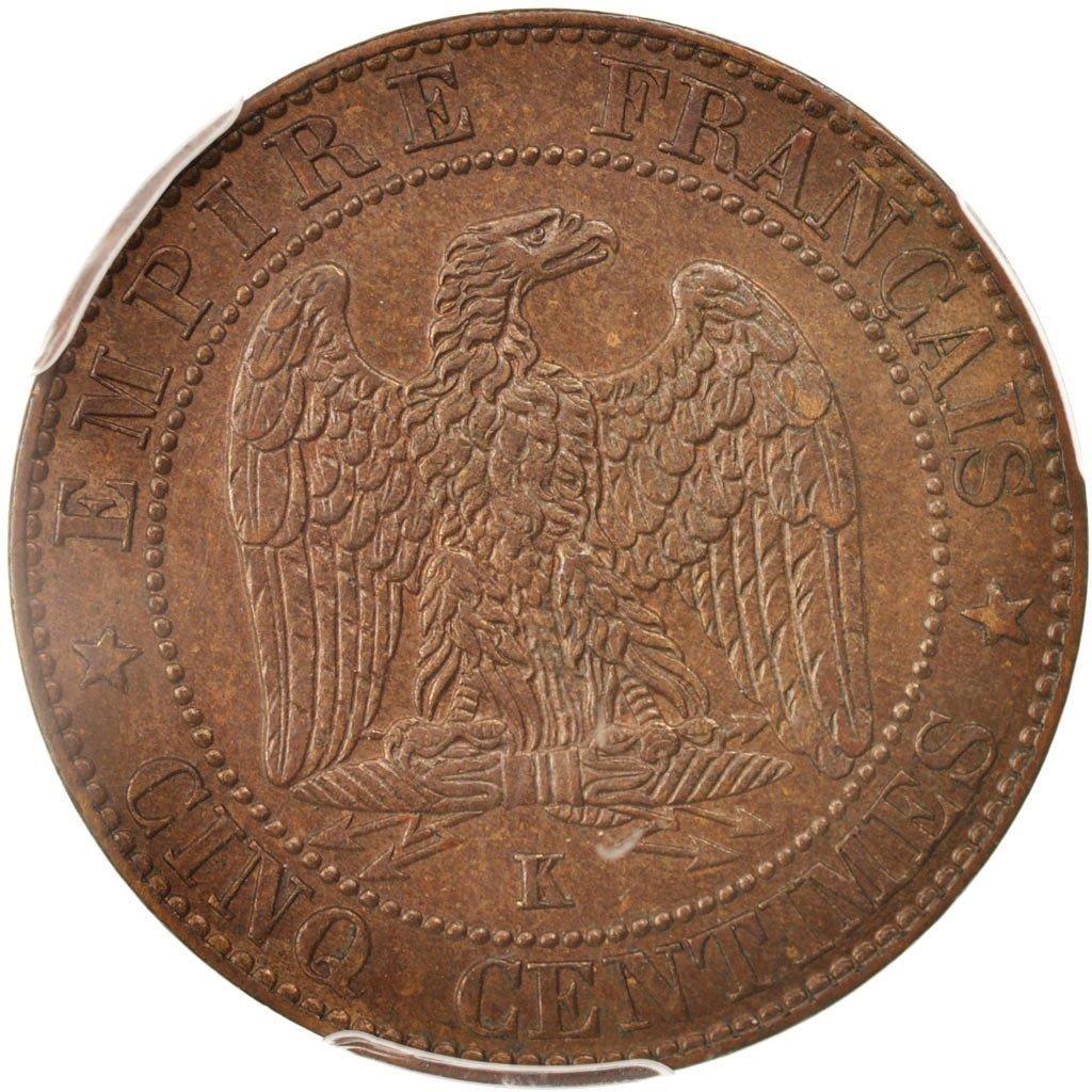 1856 K Napoléon III 5 Centimes PCGS MS64BN at Amazon's