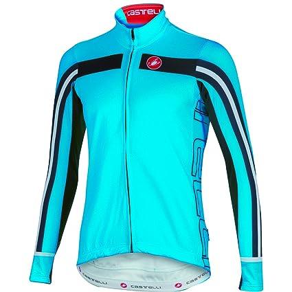 c21ec3316 Castelli Free 3 Full-Zip Jersey - Long Sleeve - Men s Drive Blue Black