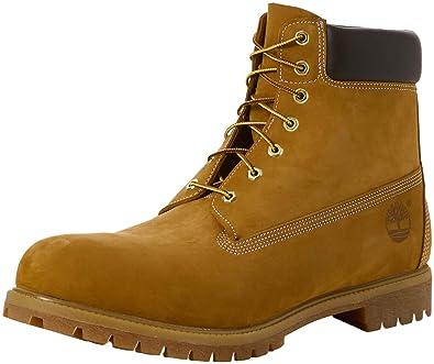 de04d2d0c2b6 Timberland Herren 6 In Premium Waterproof Kurzschaft Stiefel, Gelb (Wheat  Nubuck 713),