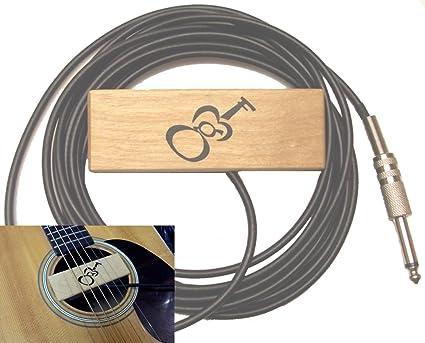 Amazon Com Acoustic Guitar Pickup Gmf Sh 1 Acoustic Guitar