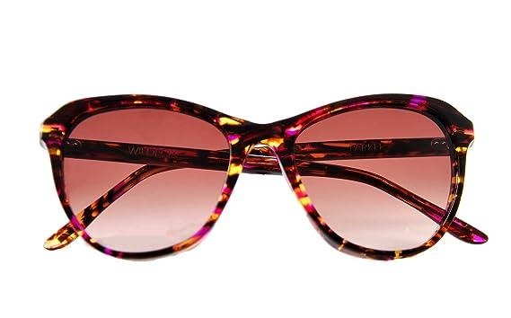 8609b04898e13 Amazon.com  Wildfox Women s PARKER Cat-Eye Sunglasses Multicolor ...