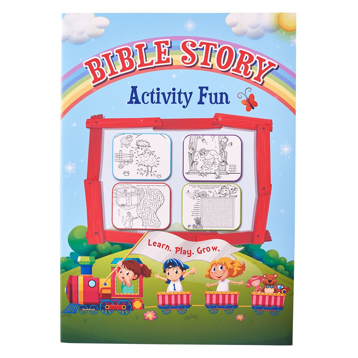 Children's Activity Book: Bible Story Activity Fun PDF