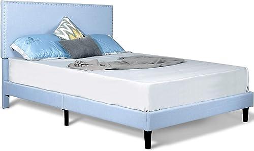 FREDEES Upholstered Platform Bed