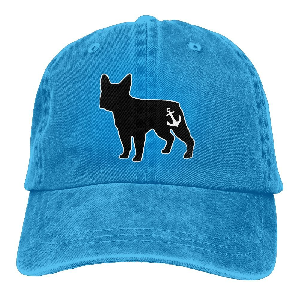 e446c33c3218b Amazon.com  Qiop Nee French Bulldog Polo Style Classic Baseball Dad Hat For  Women and Men  Clothing