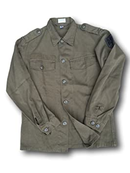 Cissbury - Camisa para hombre, diseño de ejército de Austria vintage: Amazon.es: Deportes y aire libre