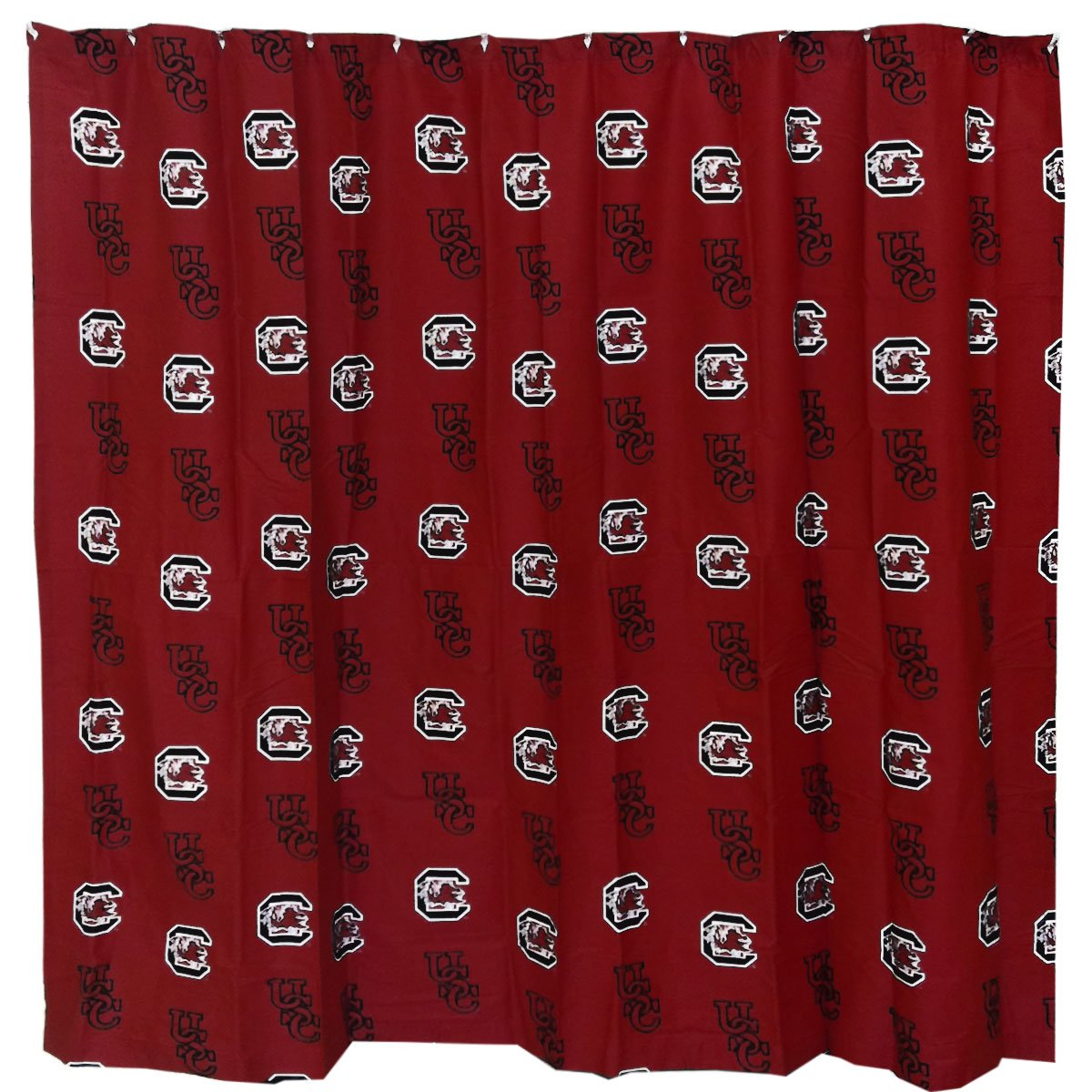 College Covers Shower Curtain Cover, 70'' x 72'', South Carolina Gamecocks by College Covers