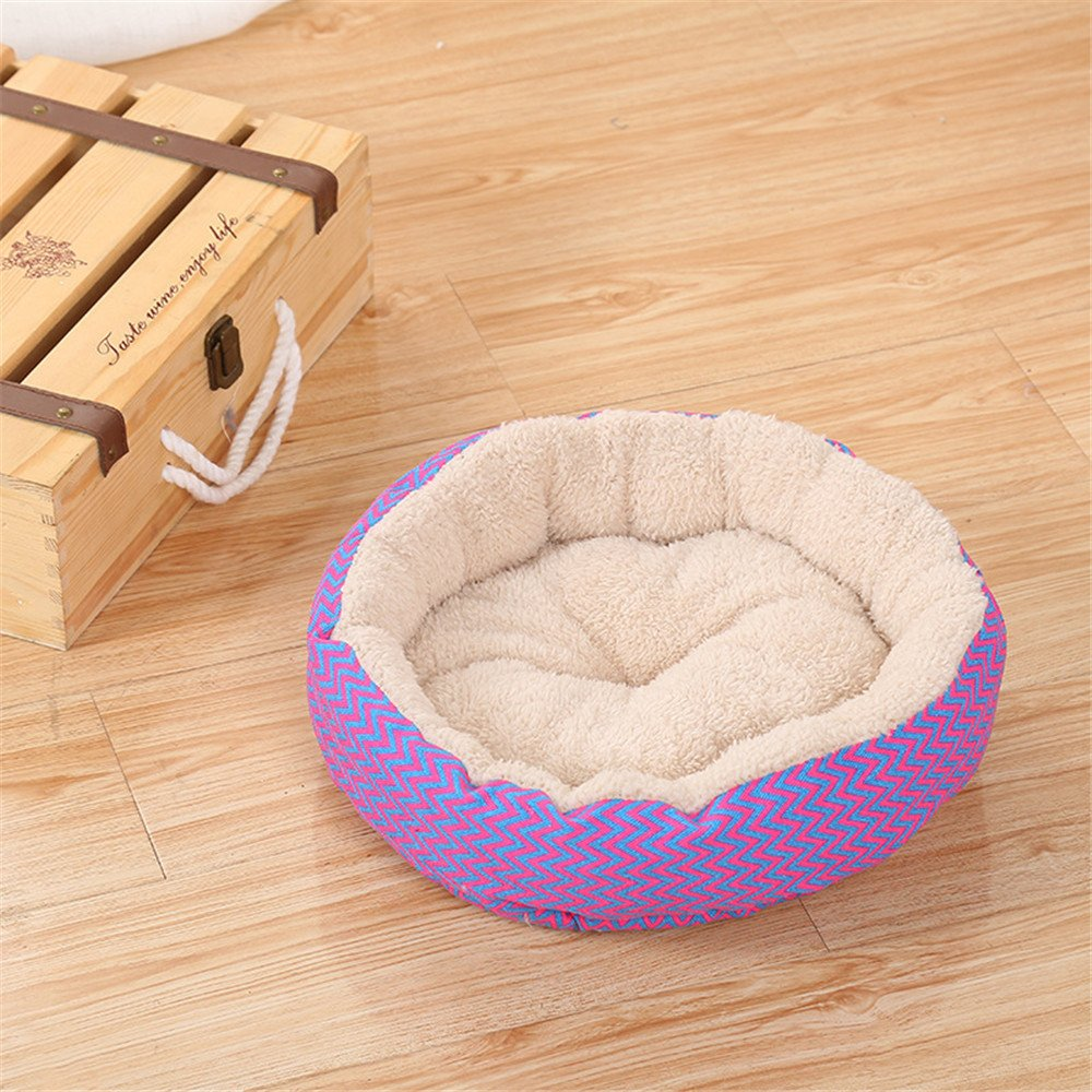 Glumes Clearance New Pet Bed Polar Fleece, Soft Removable and Washable Pet Mat Dog House Small Medium Large Pet Animal Small Dog Bed Ideal