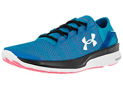 Under Armour Women's Speedform Apollo 2 Dynamite Blue/Hyr/White Running Shoe  6 Women