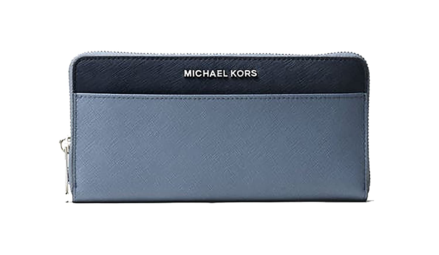 14ff7feaa079 Michael Kors Jet Set Travel Colorblock Pocket Continental Wallet in Denim/ Admiral: Amazon.co.uk: Luggage