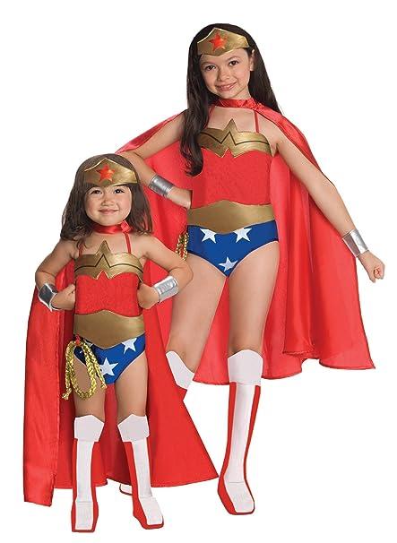 Wonder Woman Halloween Costume Kids.Girls Wonder Woman Deluxe Kids Child Fancy Dress Party Halloween Costume