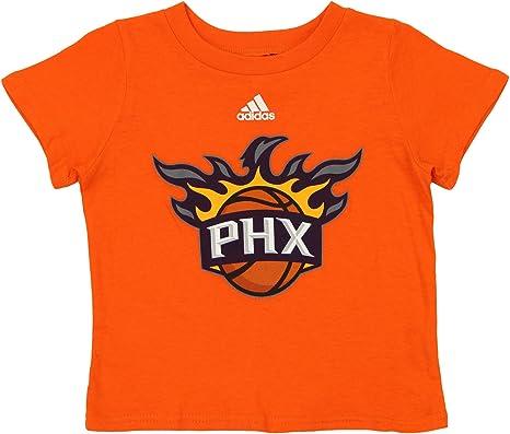adidas NBA Camiseta de manga corta con logo del equipo Phoenix ...