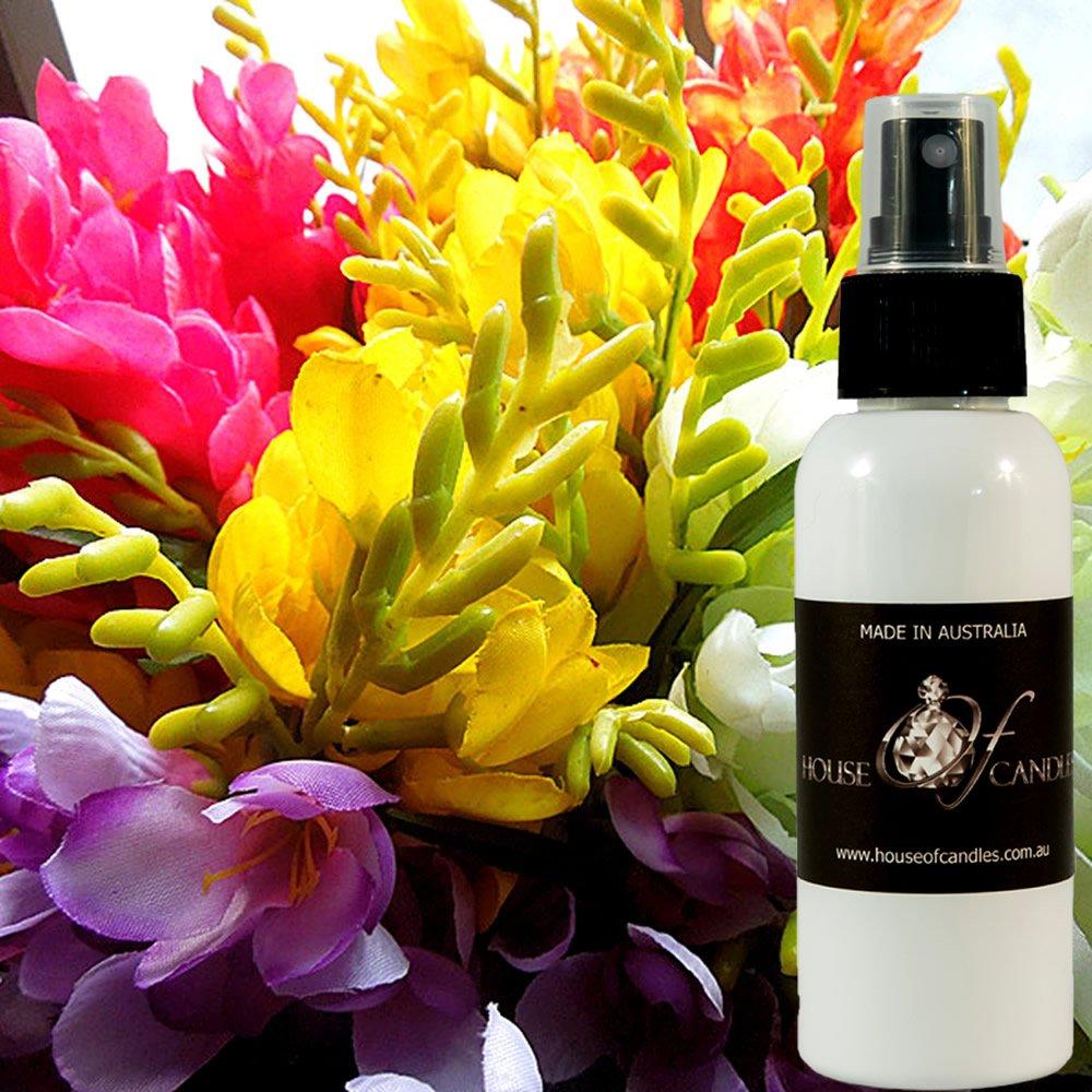 Freesia Perfume Body Spray Deodorant Mist XSTRONG 50ml/1.7oz VEGAN & CRUELTY FREE House Of Candles