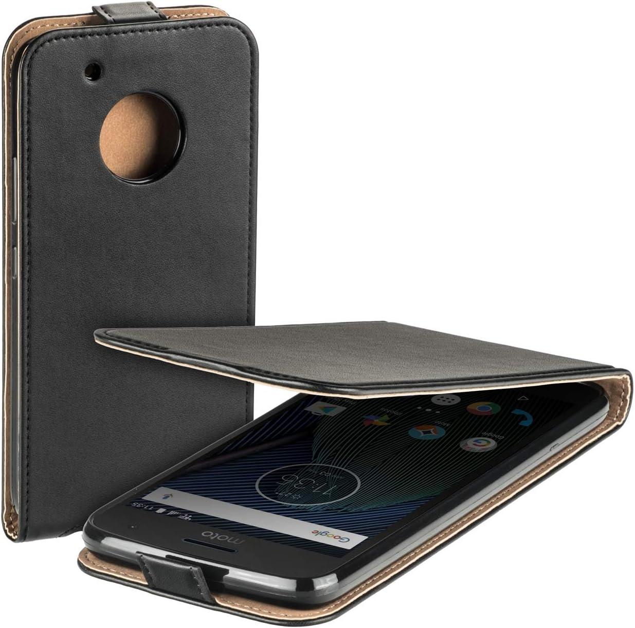 Funda Lenovo Motorola Moto G5 Plus, Yayago Funda Eco con Tapa para ...