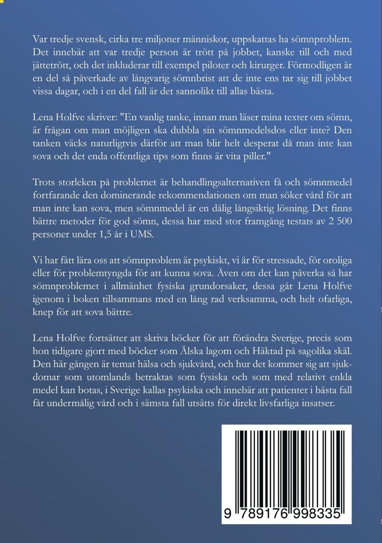 Sömnlös Swedish Edition Lena Holfve 9789176998335 Amazoncom Books