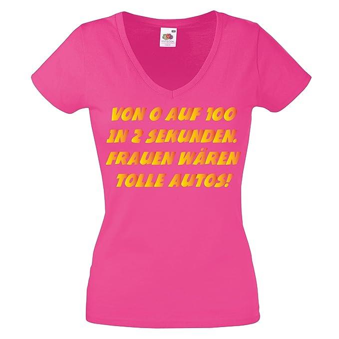 Lustige Spruche Damen Shirt Von 0 Auf 100 In 2 Sekunden