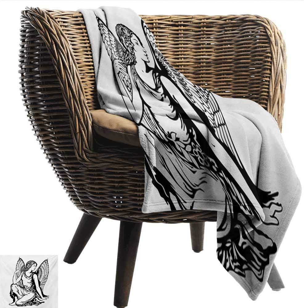 Anshesix Manta para sofá con diseño Abstracto de Signo del Zodiaco ...