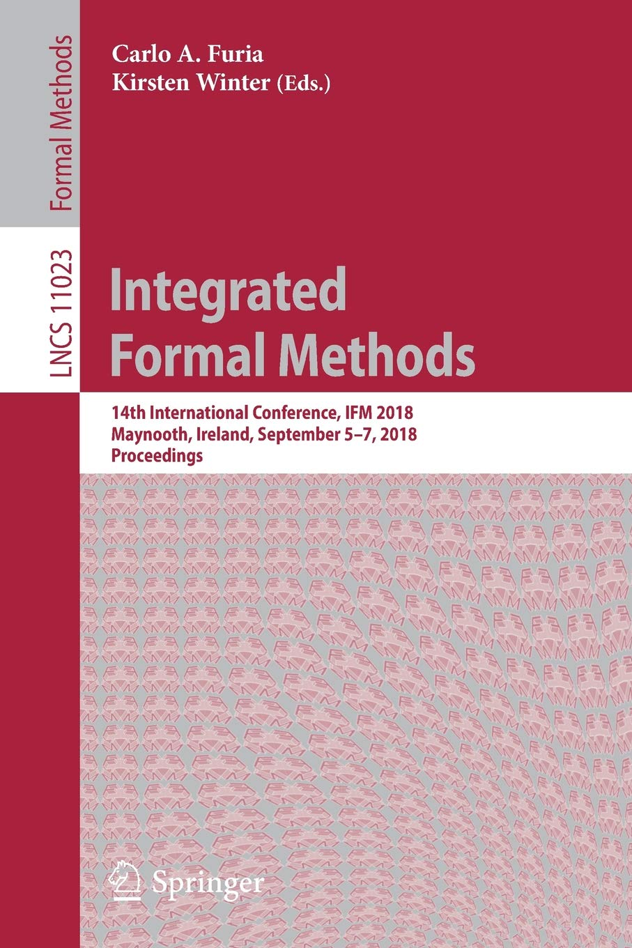 Integrated Formal Methods: 14th International Conference