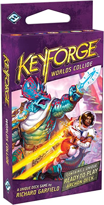 Keyforge Worlds Collide Archon Deck Display Booster Box KF05a 12 decks