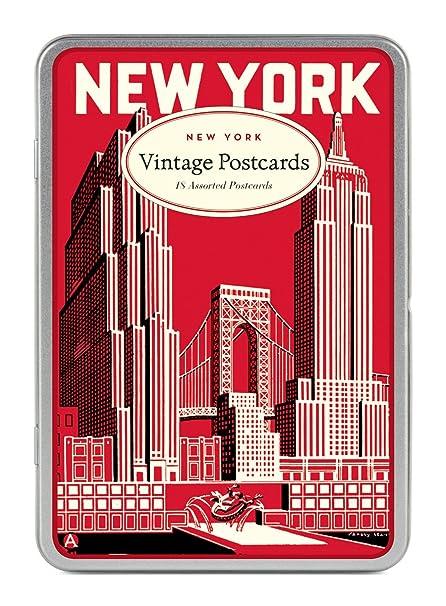 Carte Postale New York.Cavallini Co New York Carte Postale Postcards