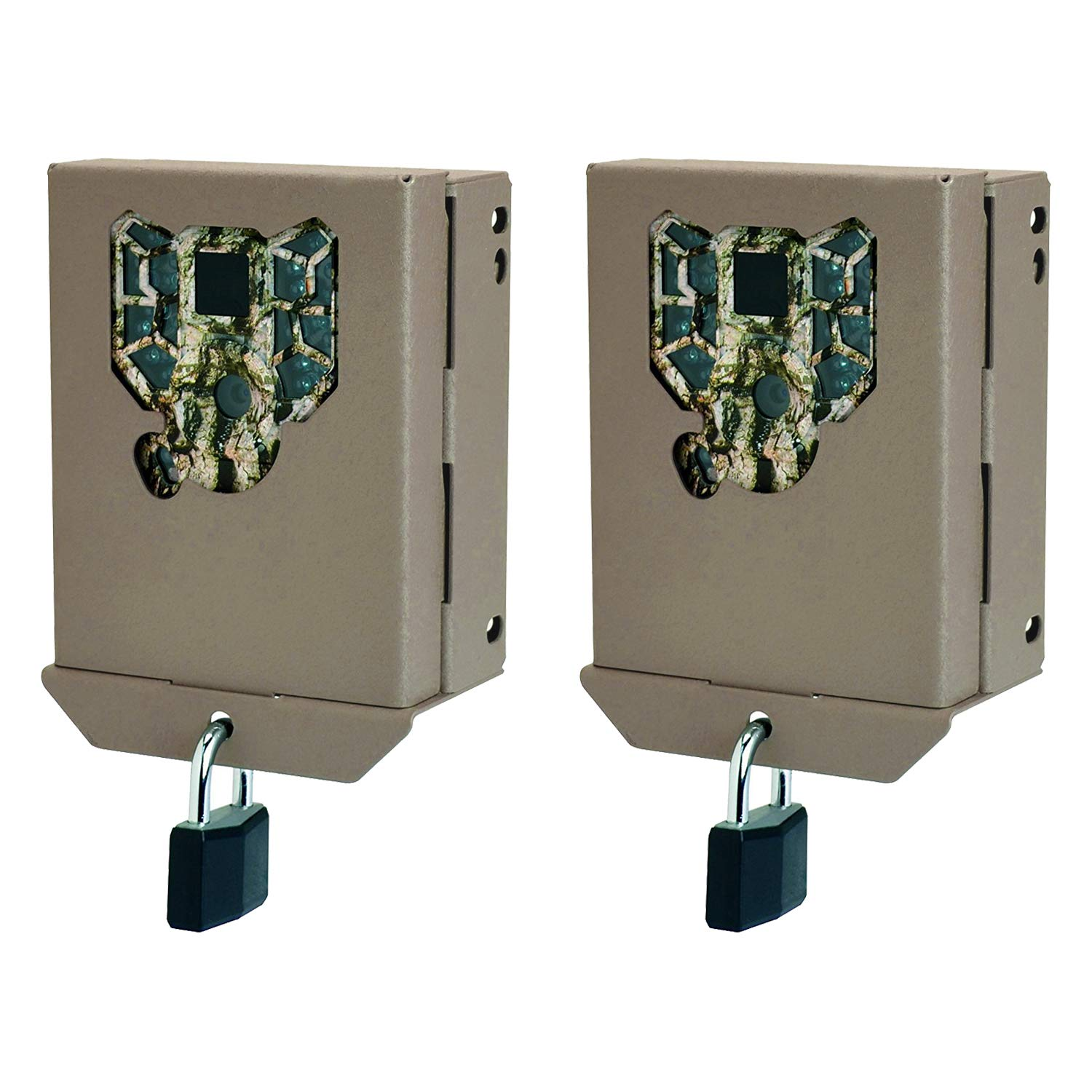 Stealth Cam PX Series Game Trail Camera Steel Security Case Box, 2 Pack   BBPX