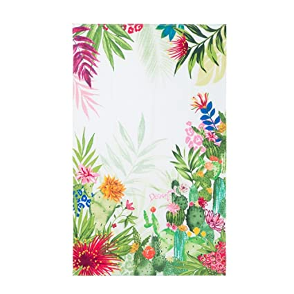 Desigual – Toalla de playa BEACH Towel _ psychotropical 18shwt03 – Collection 2018