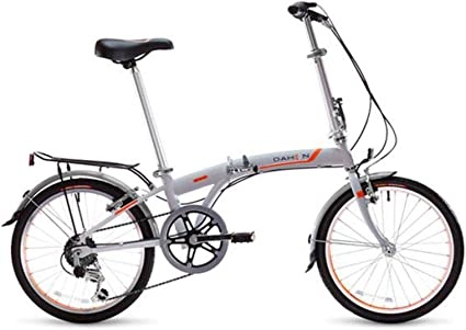 Dahon S.U.V. Uni bicicleta plegable 20 pulgadas 6 velocidades gris ...