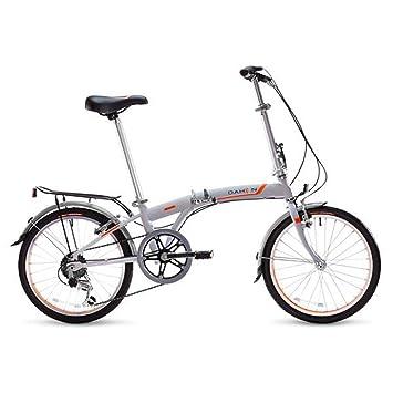 Dahon S.U.V. Uni bicicleta plegable 20 pulgadas 6 velocidades gris, 839914