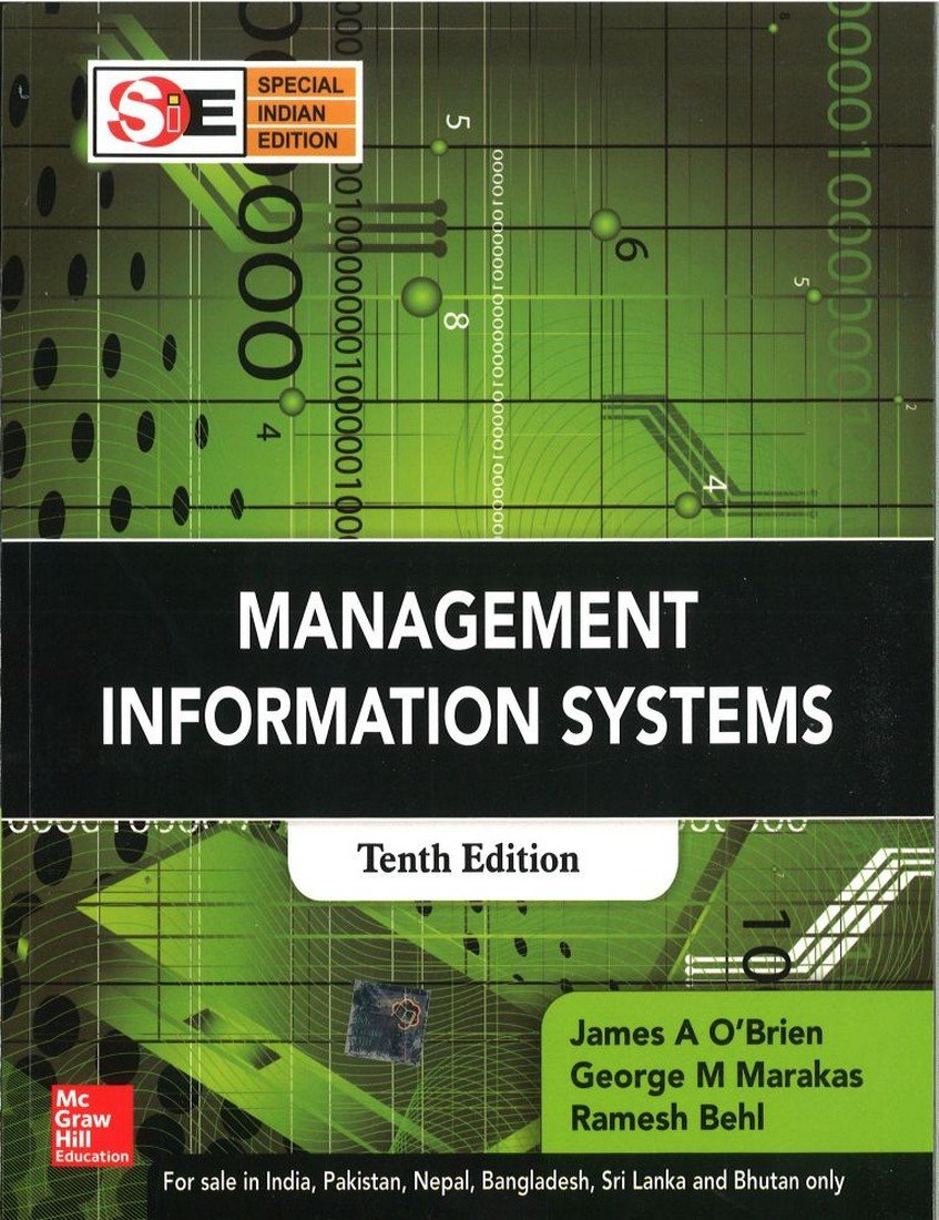 Buy Management Information Systems Book Online at Low Prices