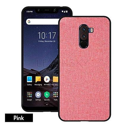 Amazon.com: Funda de tela de lujo para Xiaomi Pocophone F1 ...