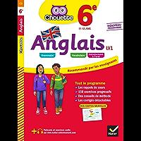 Anglais 6e - LV1 (A1 vers A2) : cahier d'entraînement et de révision (Chouette entraînement collège)