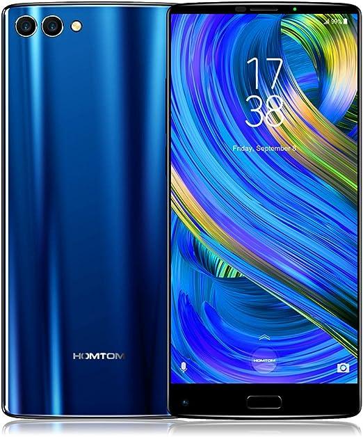 HOMTOM S9 Plus 5.99 Pulgadas Teléfono móvil 4G-LTE Smartphone 4GB RAM 64GB ROM 720 * 1440P HD + IPS Incell Android 7.0 MTK6750T Octacore 1.5GHz Frontal 13MP Atrás Dual 5 + 16MP 4050mAh OTG: Amazon.es: Electrónica