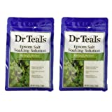 Amazon Price History for:Dr. Teal's Epsom Salt Soaking Solution with Eucalyptus Spearmint, 48 Ounce, Pack of 2