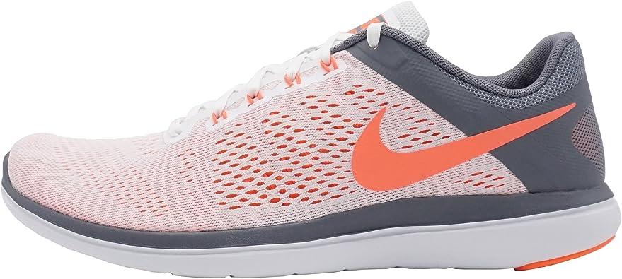 Nike 830751-101, Zapatillas de Trail Running para Mujer, Blanco (White/Bright Mango/Cool Grey), 44.5 EU: Amazon.es: Zapatos y complementos