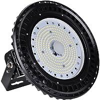 Himanjie® - Foco LED impermeable, 100W/150W/200W/300W UFO, IP65
