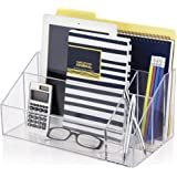 Premium Quality Clear Plastic Craft and Desktop Organizer