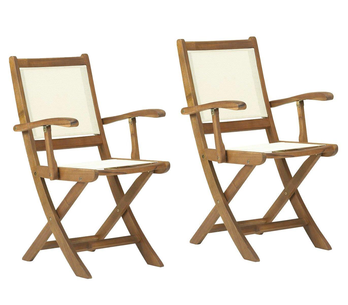 Henley Low Back Folding Armchair [Set of 2] Royalcraft 2xATC-3TIV