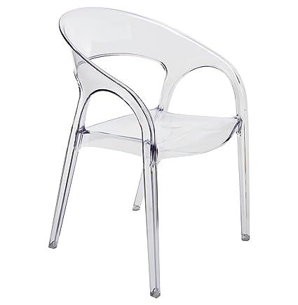 Swell Amazon Com Kathy Kuo Home Kessler Modern Round Back Uwap Interior Chair Design Uwaporg