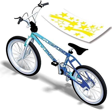 Juego de pegatinas para bicicleta bici estrella de la etiqueta ...