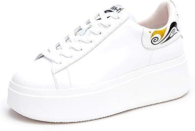 ASH Women's Moby Mask White Sneaker