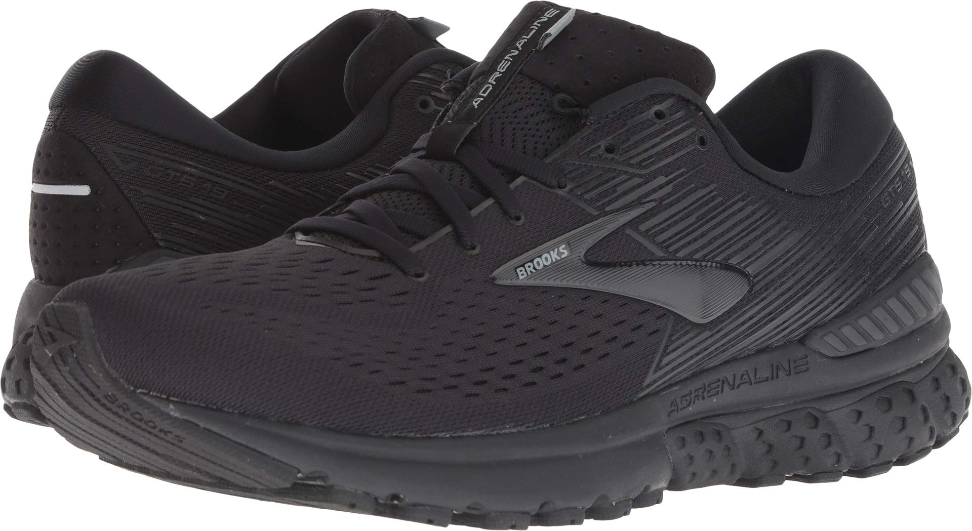 Brooks Men's Adrenaline GTS 19 Black/Ebony 11 D US by Brooks