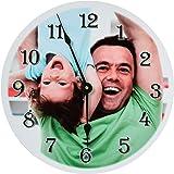 RitzPix Photo Wall Clock Customizable – Perfect Personalized Gift