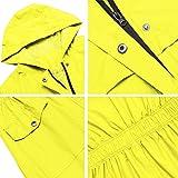 Avoogue Hooded Rain Jacket for Women, Waterproof