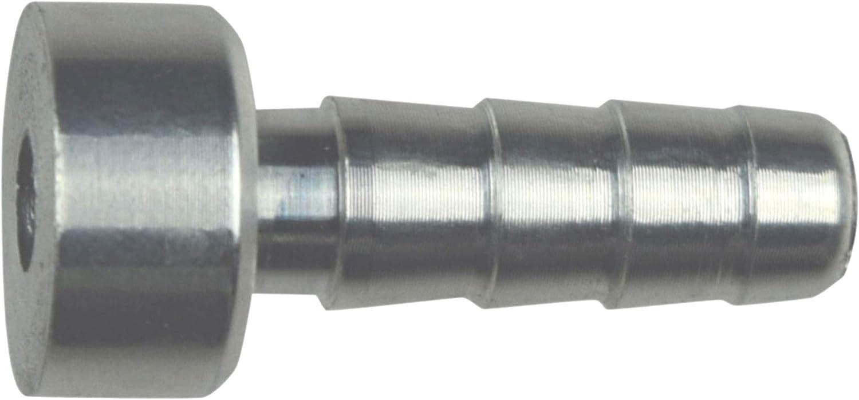 1//2 Aluminum Weld Barb AN617-08 Weldable Fitting Nipple .5 Hose