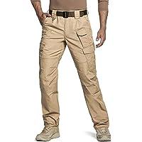 $29 » CQR Men's Tactical Pants, Water Repellent Ripstop Cargo Pants, Lightweight EDC Hiking Work…