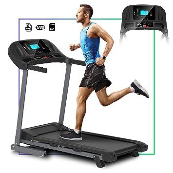 ArtGo Vincent Cinta de correr eléctrica plegable, velocidad máxima ...