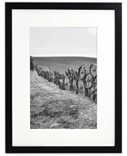 golden state art wall photo frame collection 12x16 photo wood frame with white mat