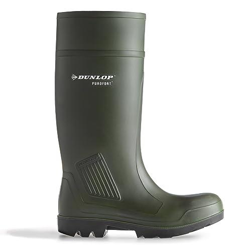 Agrar, Forst & Kommune Dunlop Purofort Unisex S5 Langschaft Gummistiefel Gr.45 C462933