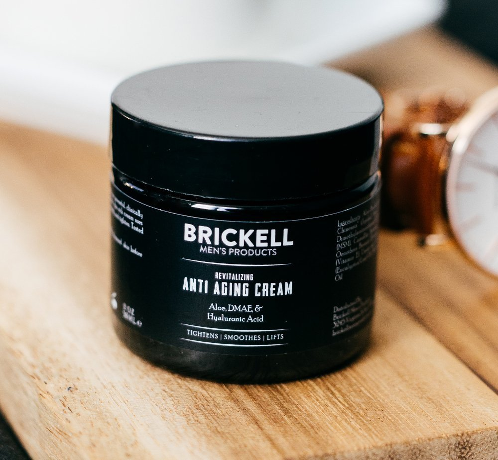 Brickell Men's Revitalizing Anti-Aging Cream For Men, Natural and Organic Anti Wrinkle Night Face Cream To Reduce Fine Lines and Wrinkles, 2 Ounce, Scented by Brickell Men's Products (Image #4)